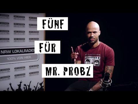 Fünf für Mr. Probz - das Interview ohne Fragen