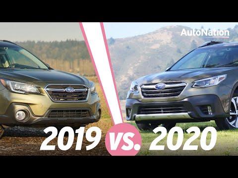 2020 Subaru Outback vs 2019 Subaru Outback #autonationdrive