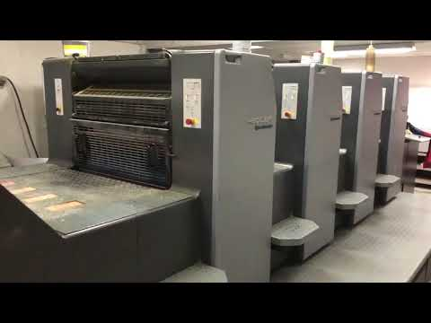 Buy 2007 Heidelberg SM74-4-H Sheet Fed Machine