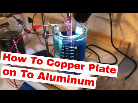 How to Electroplate on Aluminium Successfully & pass the Adhesion
