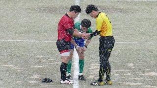 三島vs愛光 愛媛県高等学校ラグビーフットボール新人大会