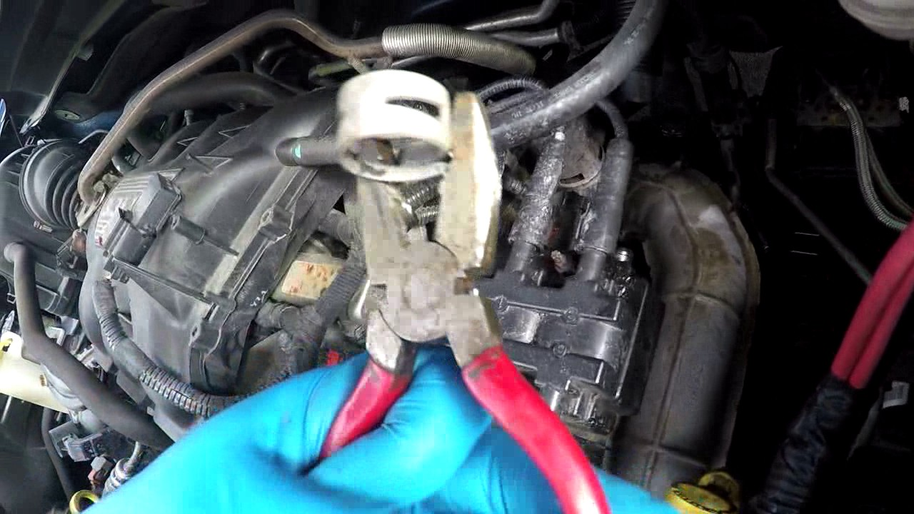 Dodge Caravan Coolant Leak Fix Youtube