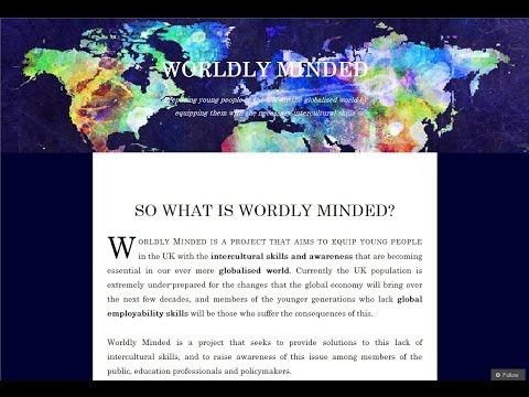 What is Worldly Minded?