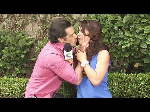 ¿Qué hizo Sebastián Zurita para que Juan Ángel le robara un beso a Jessica Cediel?