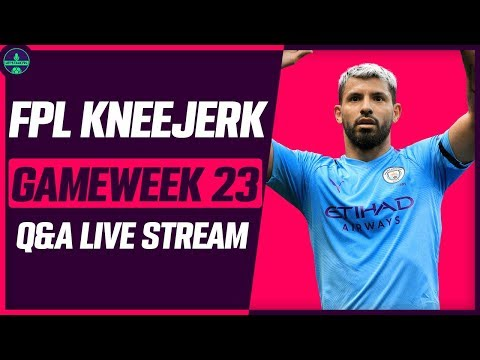 FPL KNEEJERK GAMEWEEK 23 | MAHREZ & AGUERO IN? | Fantasy Premier League Tips 2019/20