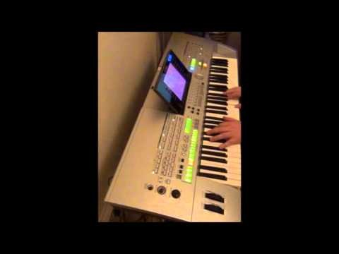 Yamaha TYROS - Electric Pianos Bank Demo - Vintage EP