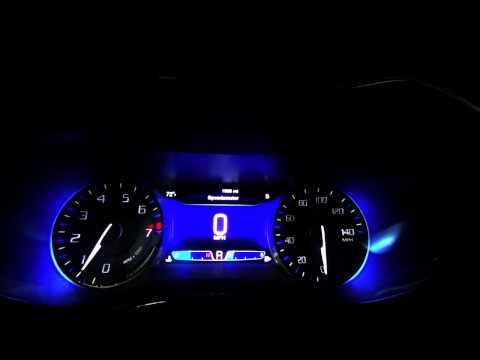 2015 Chrysler 200 S Dashboard And Engine Start