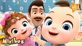If You're Happy and You Know It + More Kids Songs & Nursery Rhymes | Minibus