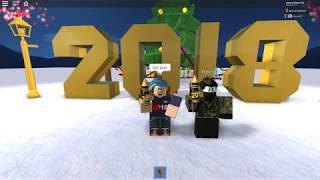 Happy New Year 2018 in ROBLOX!