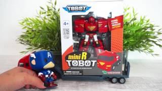 Тоботы - Трансформеры. Видео с игрушками и игрушечными машинками. Все серии подряд
