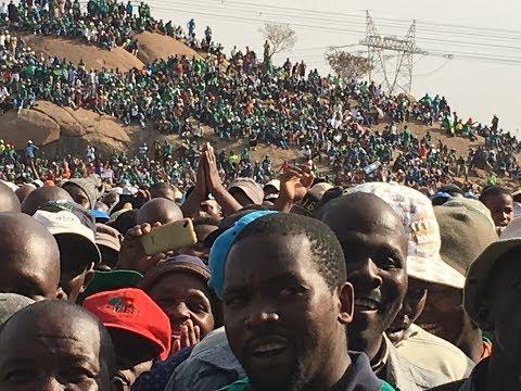 """We Remember Marikana"" 5th Commemoration Of SA Marikana Miners Massacre In South Africa"