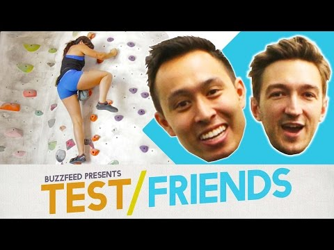 Thumbnail: Can You Rock Climb Without Ropes? • The Test Friends