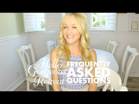 Frequently Asked Questions - Hello Gorgeous Retreat Palm Springs