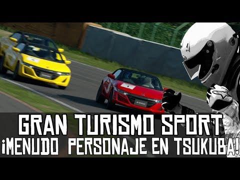 Gran Turismo Sport || Online || ¡Menudo personaje en Tsukuba! thumbnail