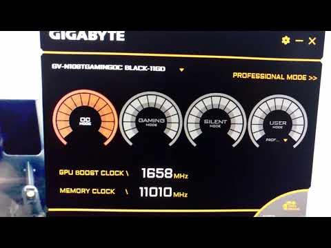MINING NICEHASH WITH Gigabyte GTX 1080 Ti Gaming OC Black Edition 11GB GDDR5X | AUDIOVISOR
