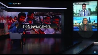The Newsmakers: Rohingya Crisis And Tweeting From Aleppo