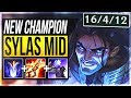 SYLAS IS ACTUALLY SO STUPID STEAL ANY ULTIMATE Sylas Mid Gameplay League Of Legends mp3