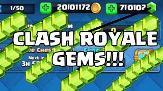 Clash Royale Hack - #1 HOW TO GET UNLIMITED FREE GEMS TODAY!