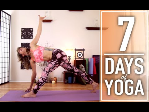 Yoga For Weight Loss – 30 Minute Fat Burning, Total Body Workout. 2 of 7