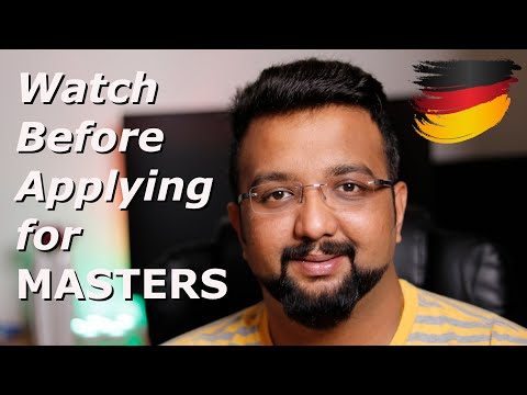 Is Germany good for Masters? - MUST WATCH before applying to German University