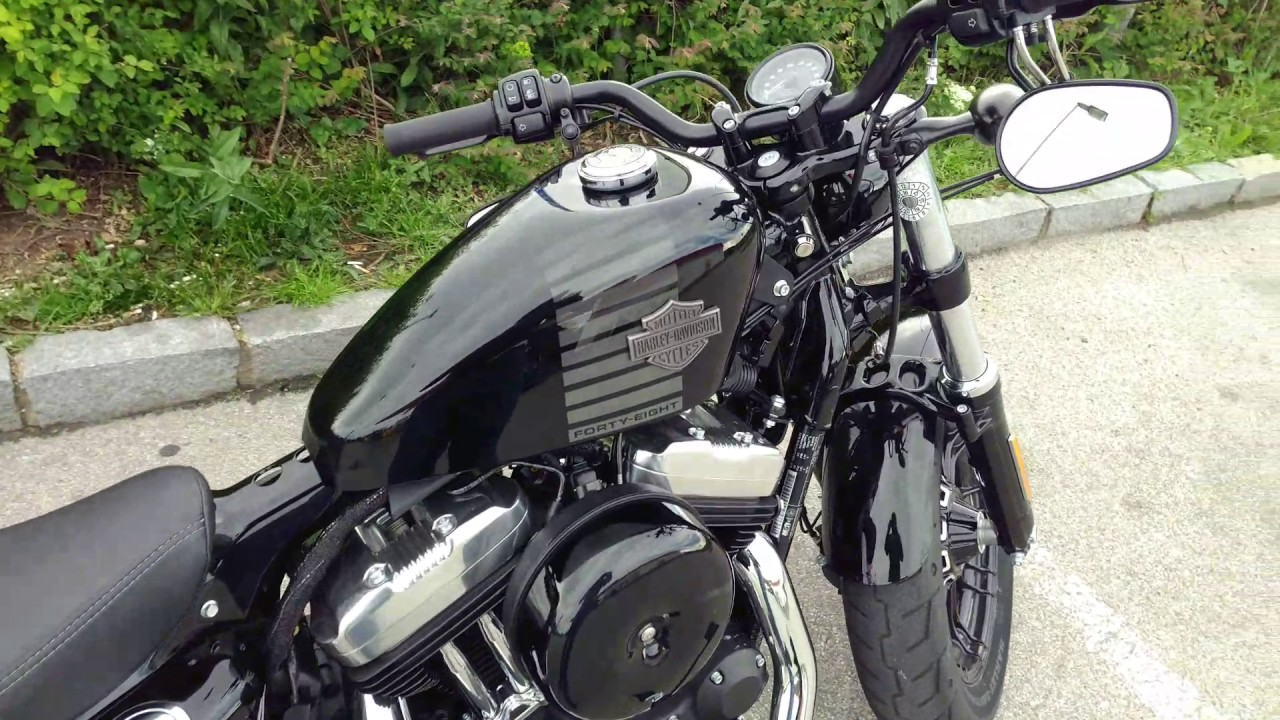 Harley Davidson 48 2017. Kess Tech - YouTube