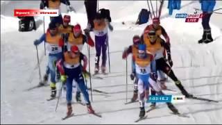 Лыжные гонки 1 02 2015 Мужчины 30 км Классический стиль Масс стар Словакия 2015