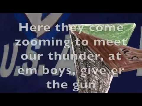 The Armed Forces Medley for kids with lyrics and vocal for civilian performance