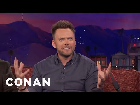 Joel McHale's Son's Insulting Nickname For Donald Glover  - CONAN on TBS