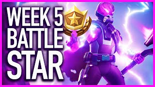 Fortnite: Week 5 Secret Battle Star Location Guide (Season 9 Utopia Challenges)