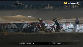 Cairoli overtakes Gajser and wins MXGP of Qatar