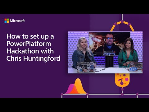 How To Set Up A PowerPlatform Hackathon With Chris Huntingford | #LessCodeMorePower