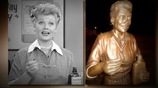 Lucille Ball Statue Sparks Outcry