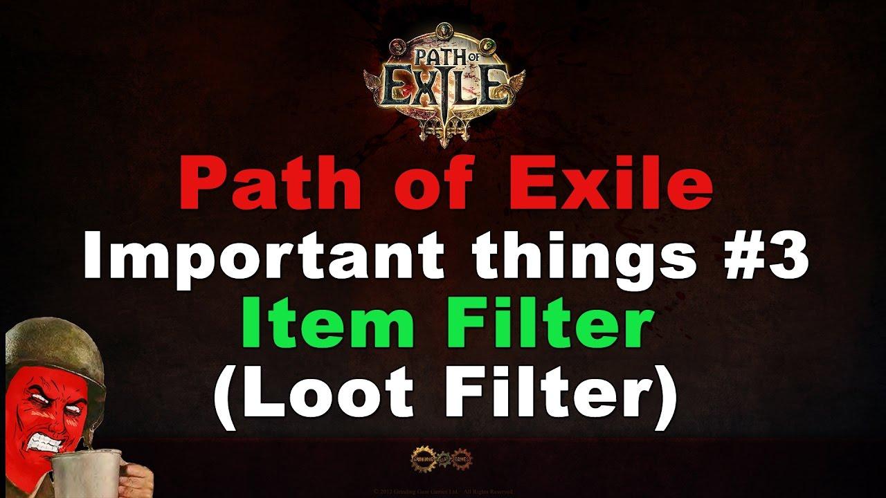 3.1 loot filter