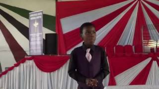 The 11 years old Kwanele Preaching. Just a short message