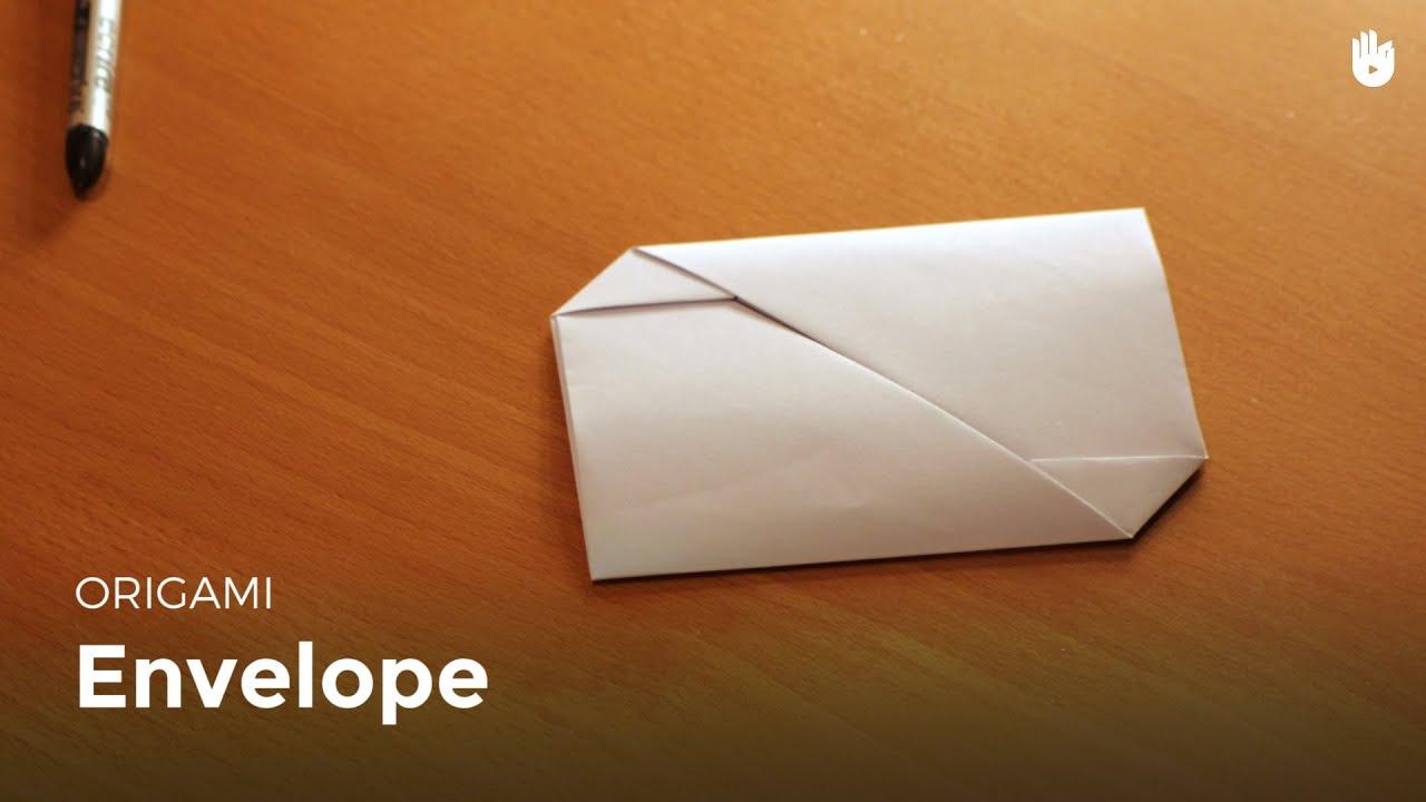 Préférence Comment faire une enveloppe avec une feuille de papier | Origami  BN31
