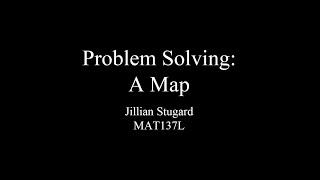 MAT137L: Chapter 1 Problem Solving: A Map, Example 2