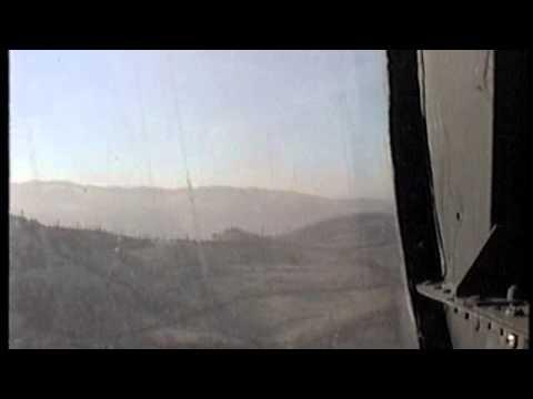 UH-60 Flight from Tuzla, BiH to Sarajevo January 1997