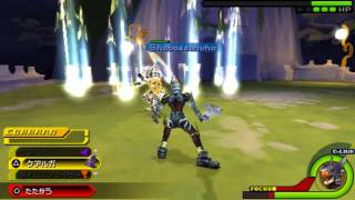 Repeat youtube video Kingdom Hearts Birth By Sleep Final Mix: Armor Of The Master Boss Battle HD