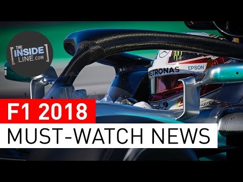 F1 NEWS 2018 - WEEKLY FORMULA 1 NEWS (20 MARCH 2018) [THE INSIDE LINE TV SHOW]