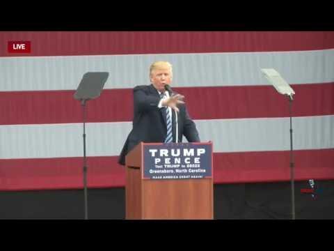 Full Speech: Donald Trump Rally in Greensboro, NC 10/14/16
