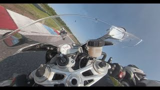 BMW S1000RR & HP4 Race 360° Onboard in Automotodromo Brno