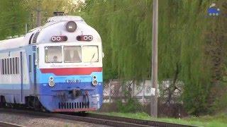 видео Поездка ретро-поездом из Коломий до Рахова