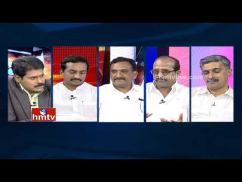 Debate on Districts Divisions in Telugu States | 25 Districts in AP, 24 in Telangana | HMTV
