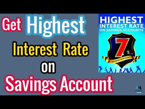 Highest Interest Rate on Savings Account