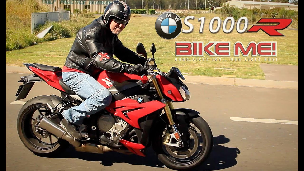 bmw s1000r review   bike me   youtube