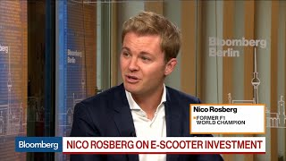 Formula One's Rosberg on E-Scooter Investment, Niki Lauda