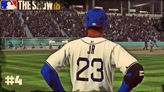 FIRST AA GAME AND HIT! | MLB The Show 18: Road to the Show #4