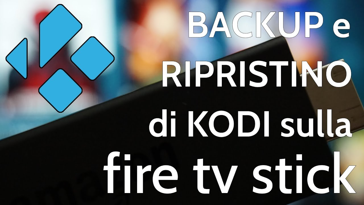 Fire Tv Stick Backup