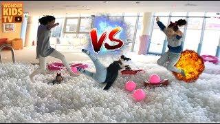 강남 키즈카페 새빛섬 PIM 키즈카페  giant Ball Swimming Pool for children l indoor playground