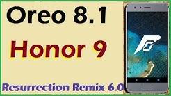 Resurrection Remix For Honor 9i